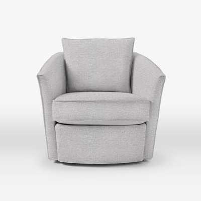 Duffield Swivel Chair - West Elm