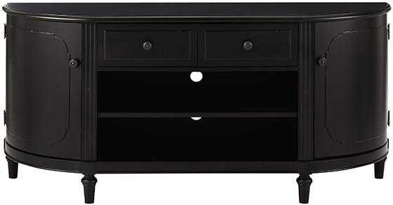 "MARTHA STEWART LIVINGâ""¢ INGRID MEDIA CABINET - RUBBED BLACK - Home Decorators"