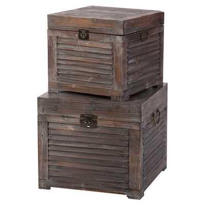 2-Piece Bristol Trunk Set - AllModern