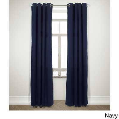 """Harlequin Double Pannel Curtain Panel - navy - 84"""" - Overstock"""