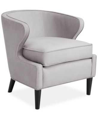 JLA Ludo Fabric Accent Chair, Direct Ship - Macys