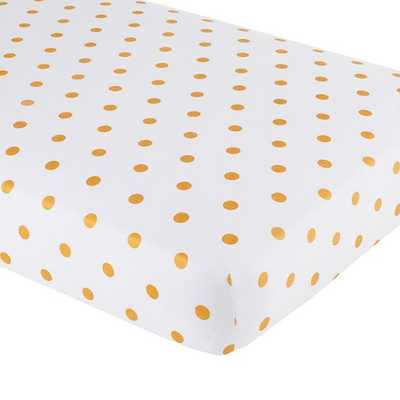 Marine Queen Crib Fitted Sheet - Land of Nod
