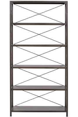 Ryan Metal Bookcase - Home Decorators