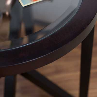 Webster Round End Table - Hayneedle