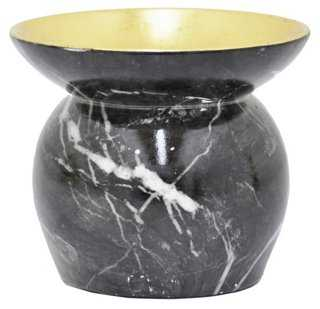 Marbleized Candleholder - One Kings Lane