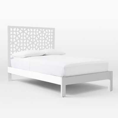 Morocco Bed - White - West Elm