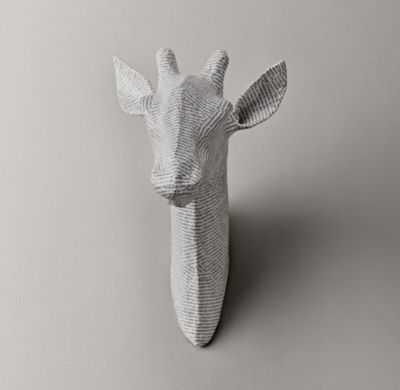 Papier-mâché giraffe head - RH Baby & Child