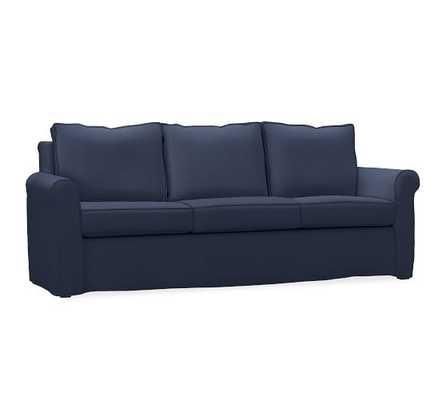 Cameron Roll Arm Slipcovered Sofa- Twill- Cadet Navy - Pottery Barn