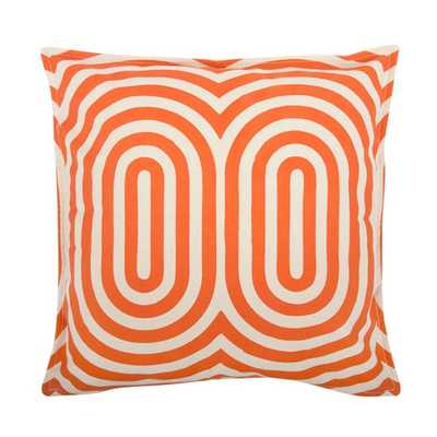 """Geometric Cotton Throw Pillow -18""""-with down feather insert - AllModern"""