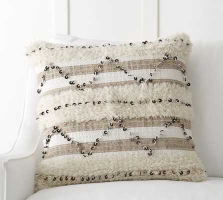 "Rivka Moroccan Pillow Cover- 20"" sq. - Insert Sold Separately - Pottery Barn"