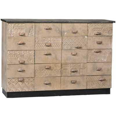 Dovetail Fraser Dresser - Candelabra