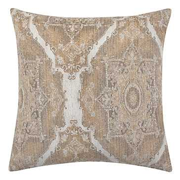 "Ibiza Pillow 24"" - Ivory - With insert - Z Gallerie"