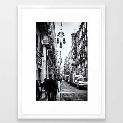 Barcelona - 20x26 - Framed - Society6