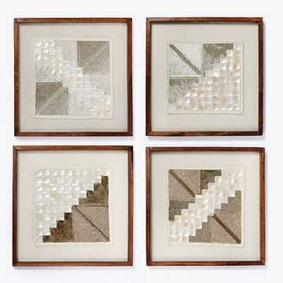 Framed Beaded Wall Art - West Elm