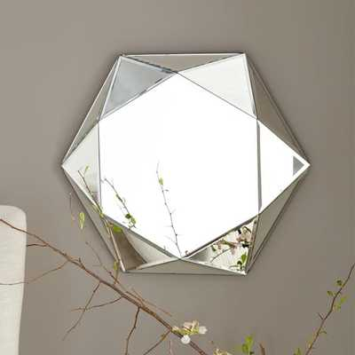 Faceted Mirror - Small - West Elm