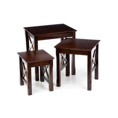 Xola 3 Piece Nesting Tables - Wayfair
