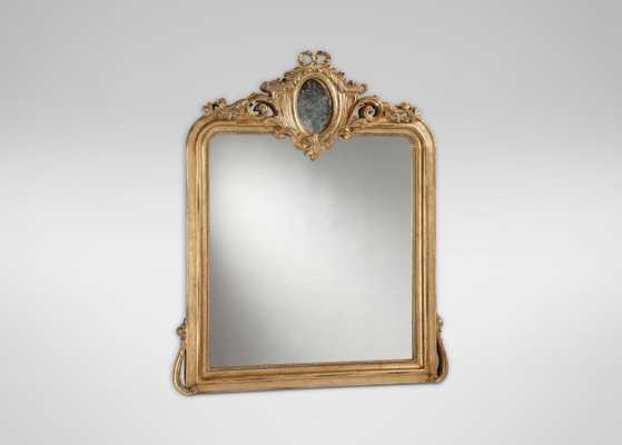 Aged Gold Provincial Mirror - Ethan Allen