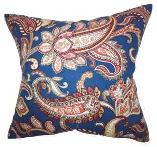 Paisley Cotton Pillow - One Kings Lane