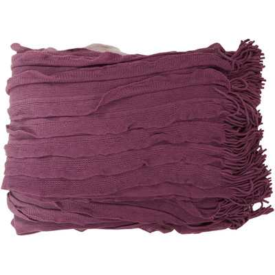 Tasha Throw Blanket - Wayfair