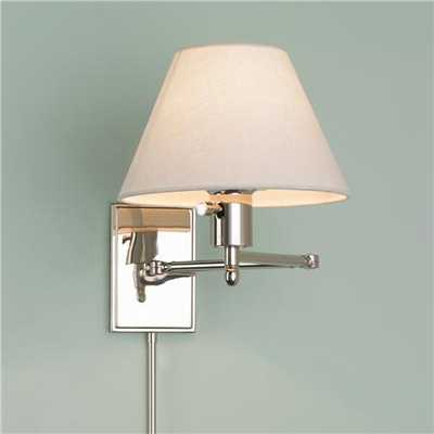 Simply Divine Swing Arm Wall Lamp - shadesoflight.com