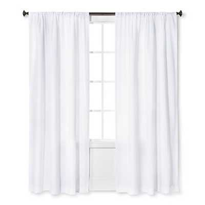 "Thresholdâ""¢ Farrah Curtain Panel-84"" - Target"