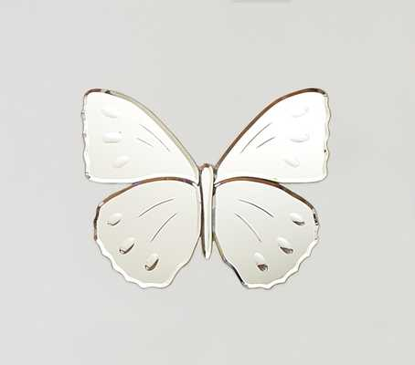 Butterfly Mirrors- Medium Spotted - Pottery Barn Kids