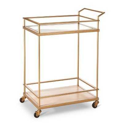 Bar Cart - Gold - Target