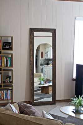 "Floor Mirror-Standard 3 weeks-Brackets-24""x66"" - Etsy"