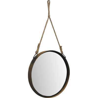 Timberland Medium Barrel Top Metal Wall Mirror - Wayfair