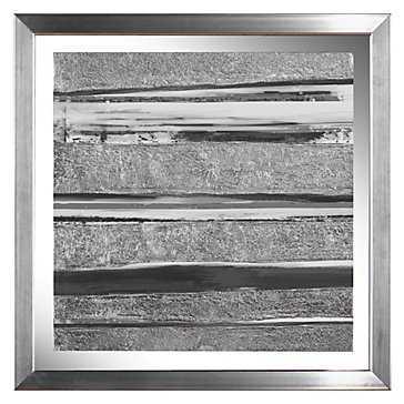 "Soothing Grey 1-17'75""x17'75""-Framed - Z Gallerie"