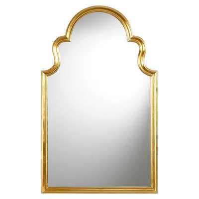 Arch Mirror, Gold - Pottery Barn Teen
