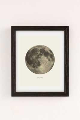 Merci Merci La Lune Art Print-13X19-Framed - Urban Outfitters