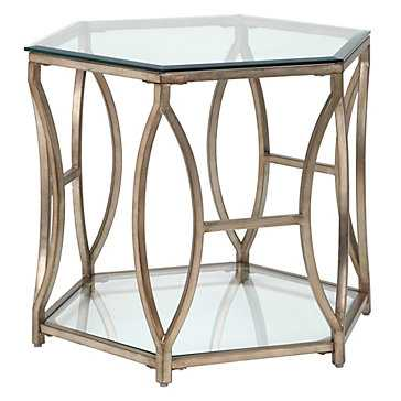 Brooke Hexagonal End Table - Z Gallerie