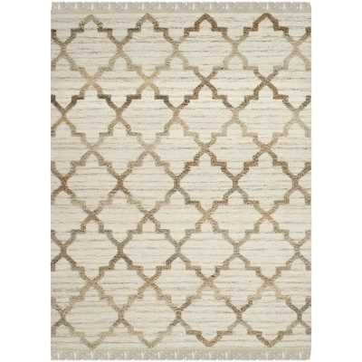 Safavieh Hand-knotted Kenya Natural Wool Rug - Overstock