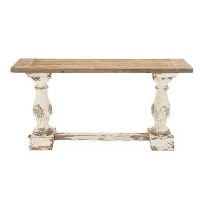 Wood Console Table - Wayfair