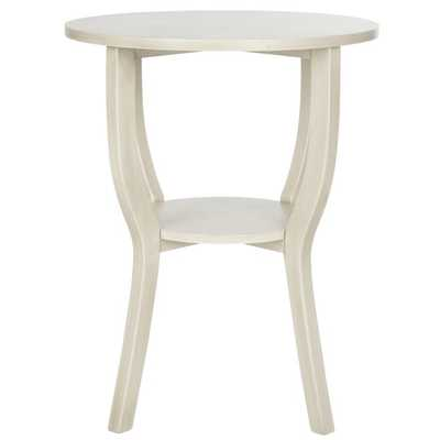 Safavieh Rhodes White Washed Accent Table - Overstock