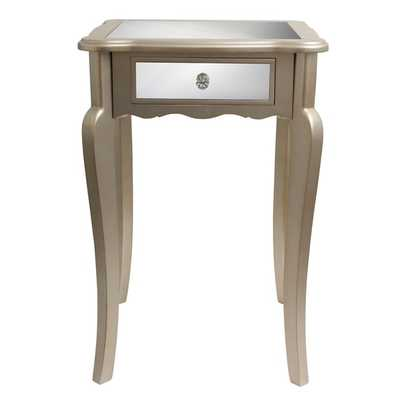 Mirrored Side Table - Overstock