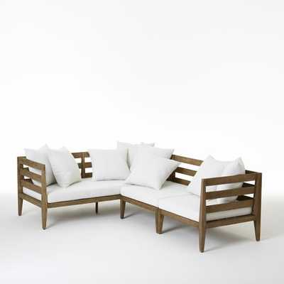 Jardine Sectional - Set 1 (1 Daybed, 1 Corner, 1 Single) - West Elm