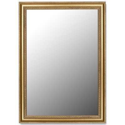 Grecian Beaded Framed Wall Mirror -25x35 - Wayfair