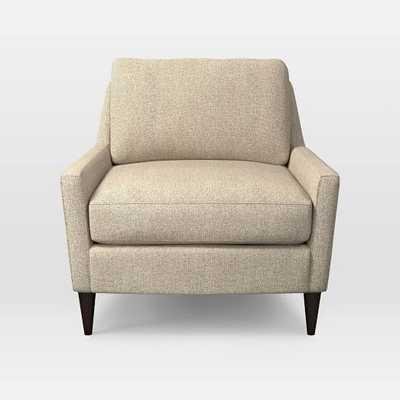 Everett Chair - Boucle, Wheat - West Elm