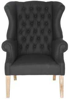 Brody Tufted Wingback Chair - One Kings Lane