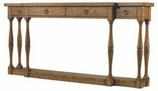 "Reese 72"" Console Table, Driftwood - One Kings Lane"