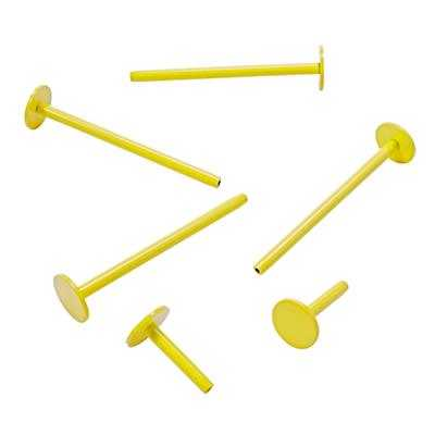 Set of 6 On the Pegboard Pegs (Yellow) - Land of Nod