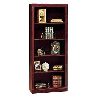 "Saratoga 71.63"" Standard Bookcase - Wayfair"