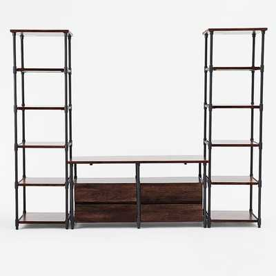 Pipe Media Set - Long - West Elm