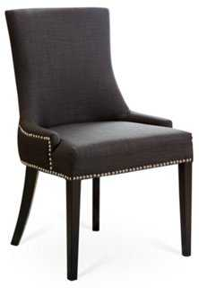 Agoura Linen Dining Chair - One Kings Lane