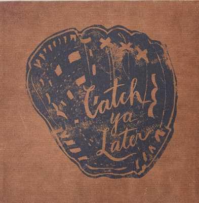Vintage Sports Canvas - Baseball Catch - Pottery Barn Teen