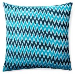 Nila Cotton Pillow - One Kings Lane