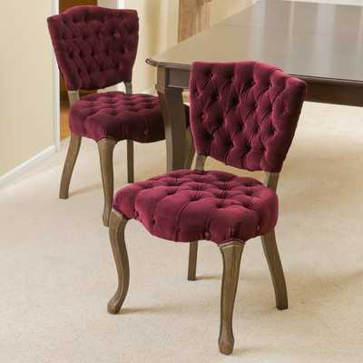Yates Tufted Fabric Dining Chairby Home Loft Concepts - Wayfair