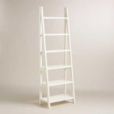 White Lacquer Josephine Bookcase - World Market/Cost Plus